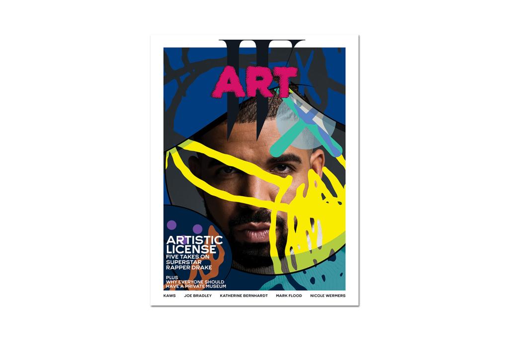 W Magazine пригласил Дрейка для специальной обложки с KAWS
