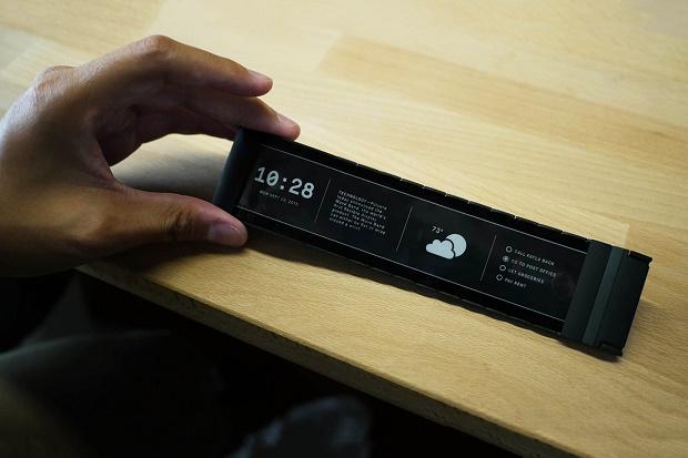 Смарт-часы Wove Band оснащены гибким экраном E Ink