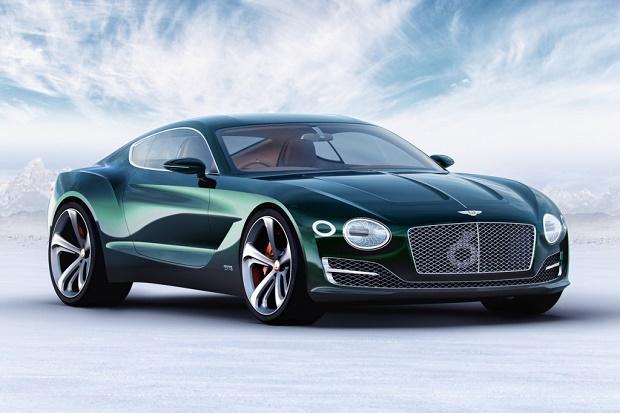 Концепт двухместного спорткара Bentley EXP 10 Speed 6