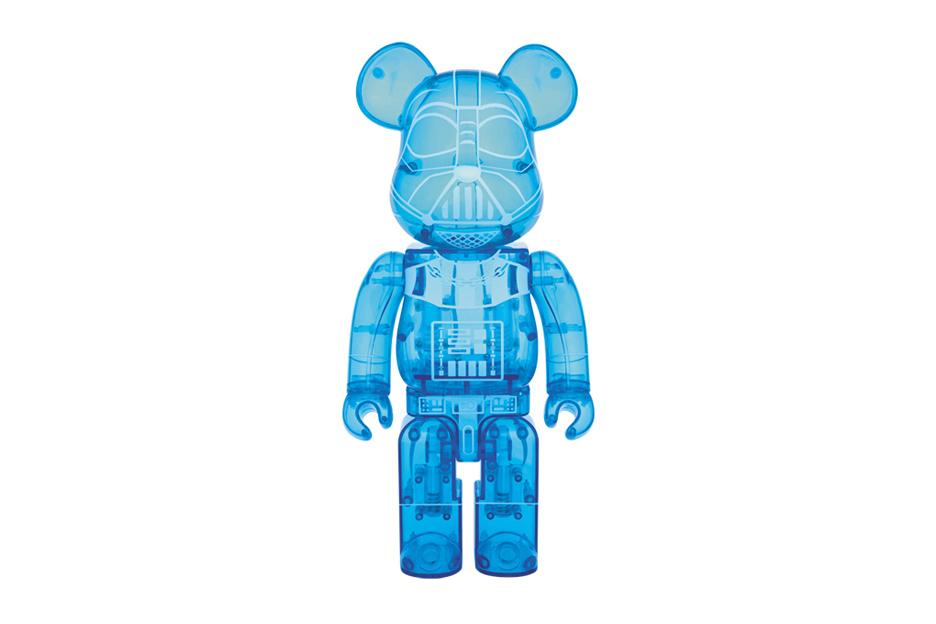 Фигурка Star Wars x Medicom Toy BEARBRICK Darth Vader Holographic