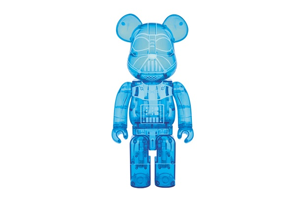 Фигурка Star Wars x Medicom Toy BEARBRICK Darth Vader Holographic