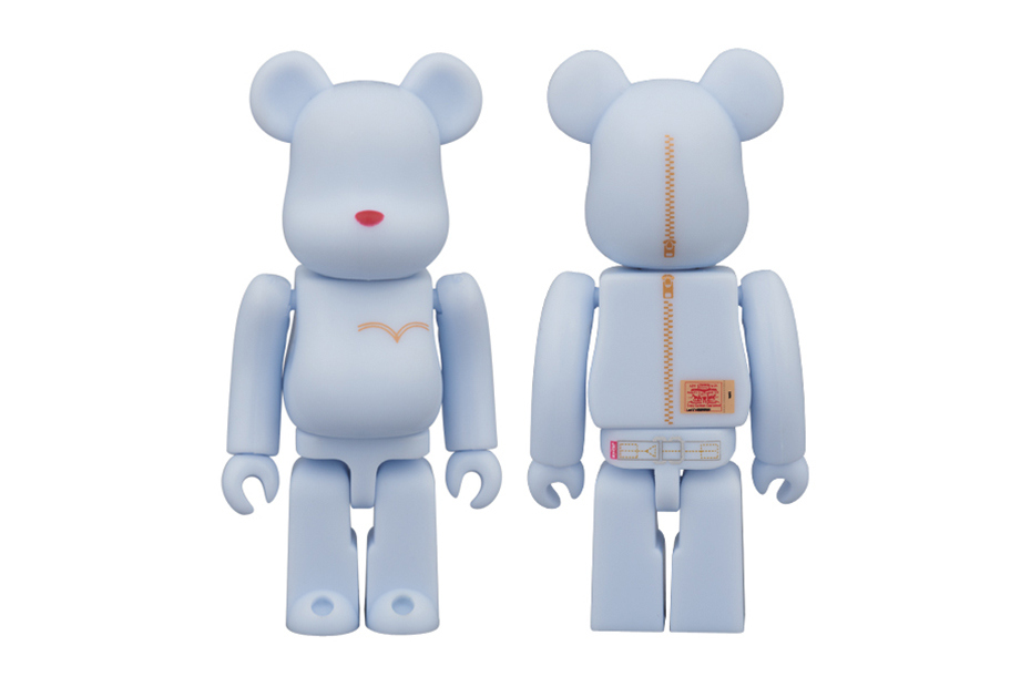 Коллаборация Levi's x Medicom Toy Wash Denim Bearbricks