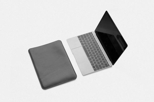 Кожаный чехол MAKR для Macbook