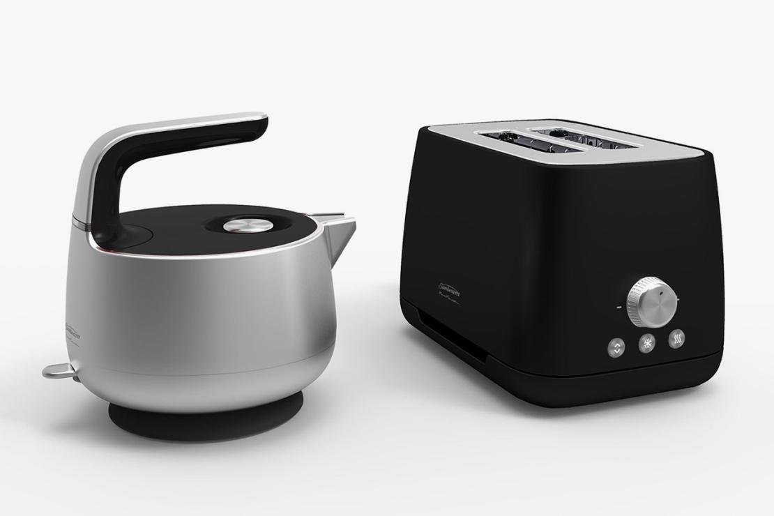 Марк Ньюсон создал чайник и тостер