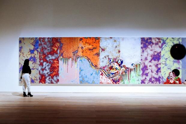 Персональная выставка Такаси Мураками открылась в Токио
