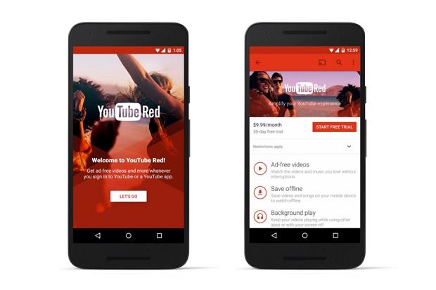 Платный YouTube Red без рекламы заработал