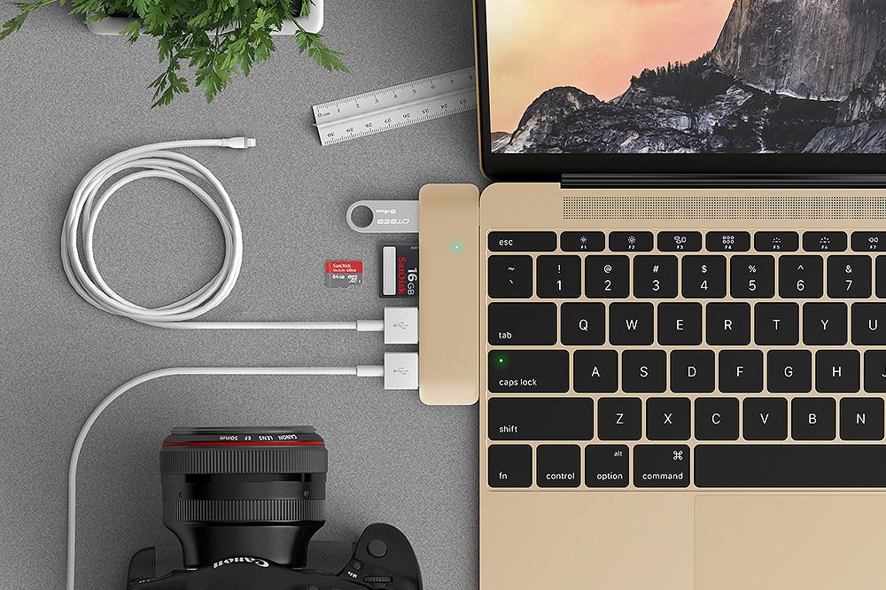 Satechi выпустила переходники USB Type-C для Macbook
