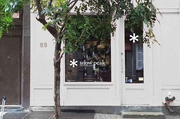 Snow Peak открыл второй магазин в Нью-Йорке