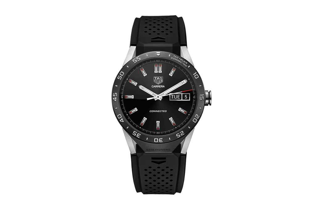 TAG Heuer представили свои люксовые часы на Android Wear