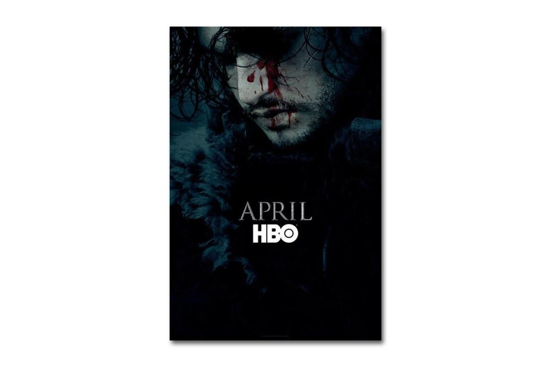 HBO выпустил постер шестого сезона «Игры престолов» c Джоном Сноу