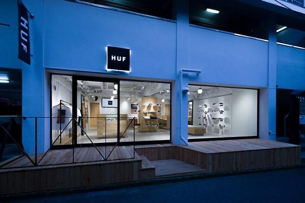 HUF открывает новый магазин в Токио