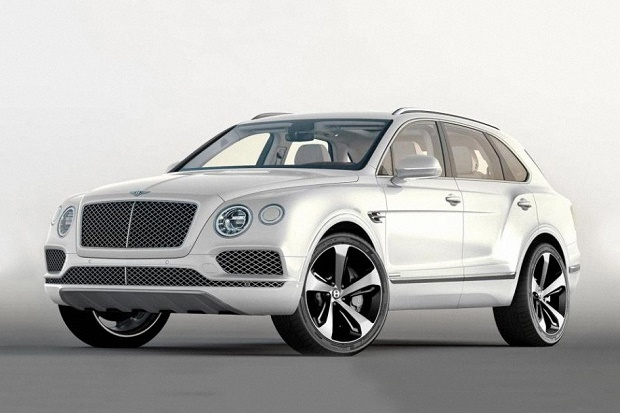 Кроссовер Bentley Bentayga получил первую спецверсию