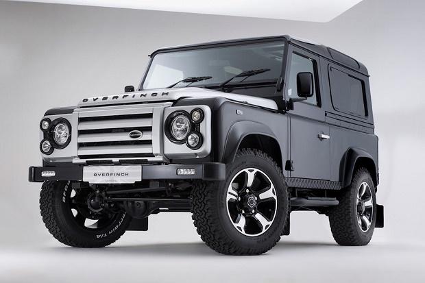 Overfinch представил юбилейный Land Rover Defender