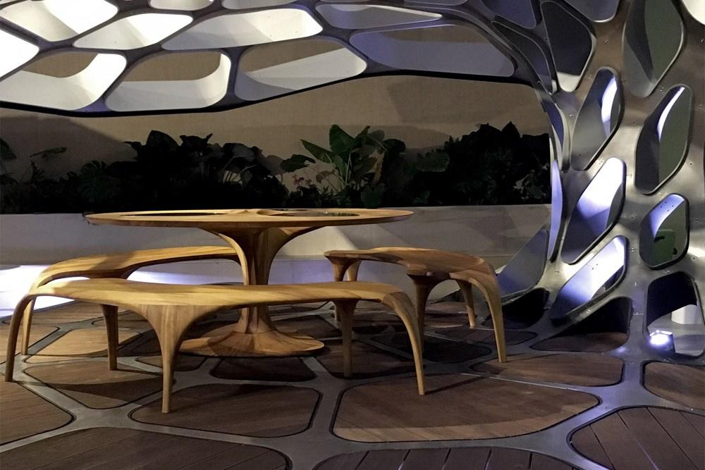 Павильон Захи Хадид и Патрика Шумахера на Design Miami 2015