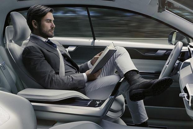 Проект Volvo Concept 26 позаботился об отдыхе водителя