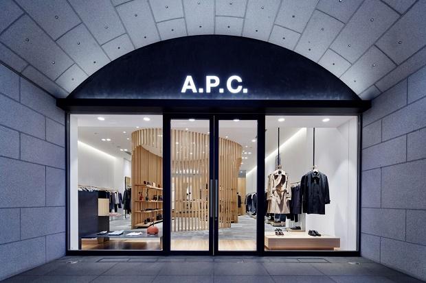 A.P.C. вновь открывает свой флагманский магазин в Киото