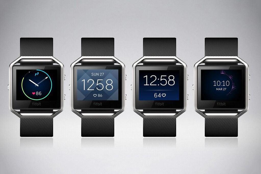 Fitbit представил цветные часы Blaze с сенсорным экраном