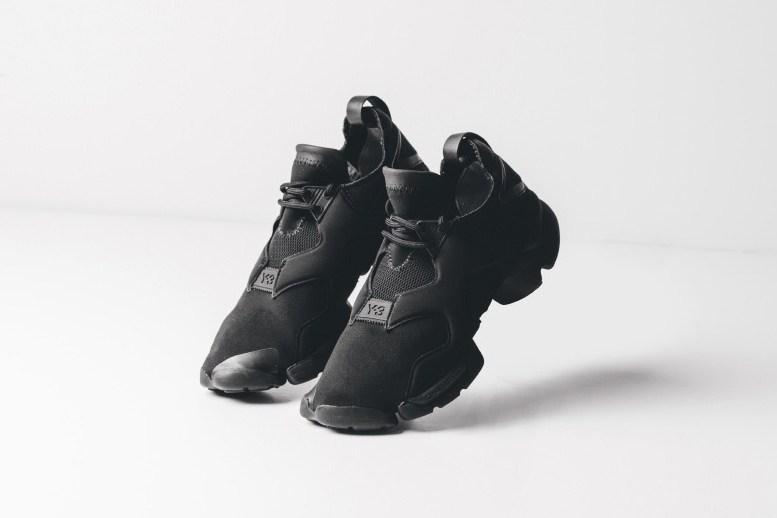 Кроссовки adidas Y-3 Kohna Black/Black