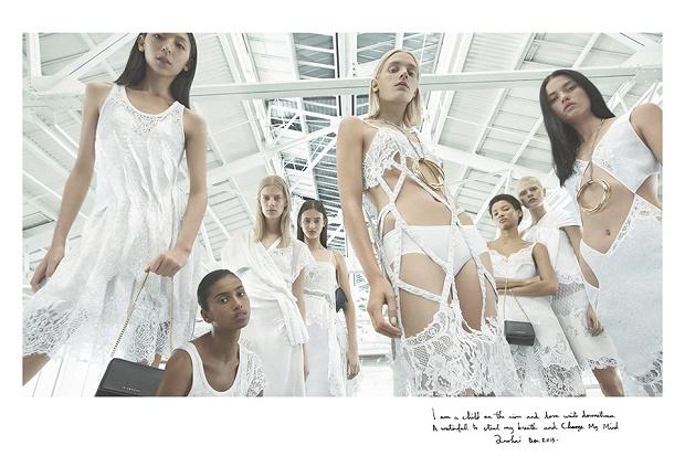 Мерт Алас и Маркус Пигготт для Givenchy весна/лето 2016