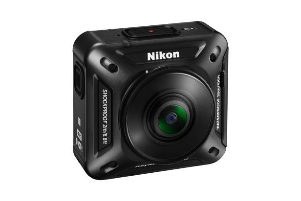 Первая экшен-камера от Nikon для съемок с 360-градусным углом обзора