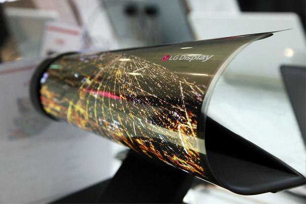 Сворачивающийся дисплей от LG - невероятный прототип из далекого будущего