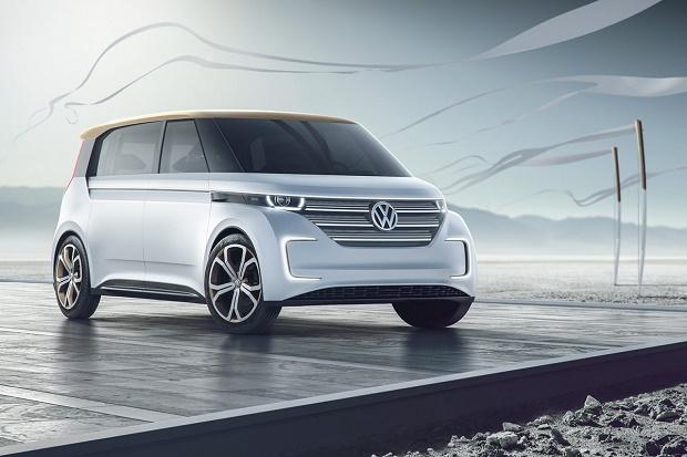 Volkswagen представила концепт электрического микроавтобуса Budd-e
