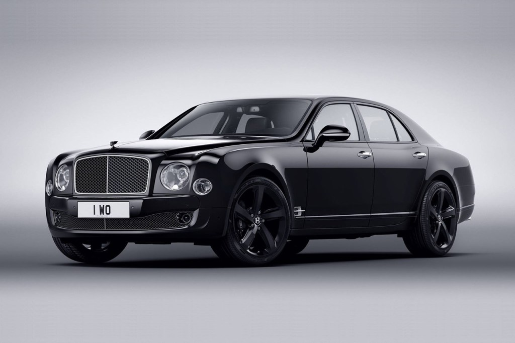 Bentley представила Mulsanne Speed Beluga