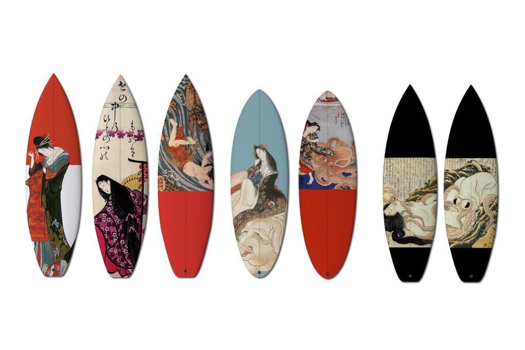 Доски для серфинга boom art в японском стиле 18 столетия
