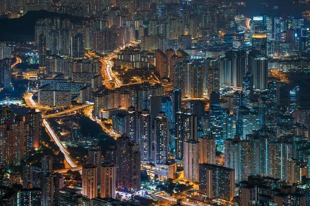 Фотографии ночного Гонконга от Питера Стюарта