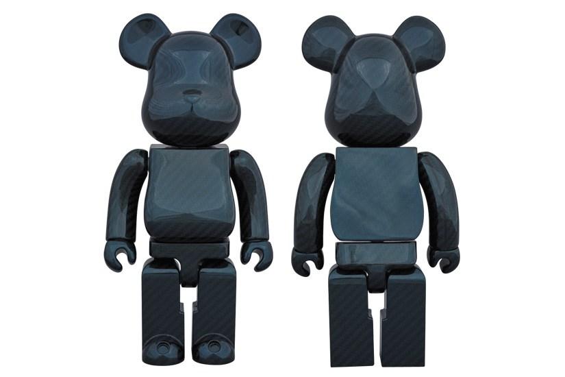 Medicom Toy выпустили новую 400% фигурку Bearbrick в «карбоновом синем» цвете