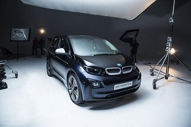 MR PORTER и немецкий автомобильный производитель переделали BMW i3