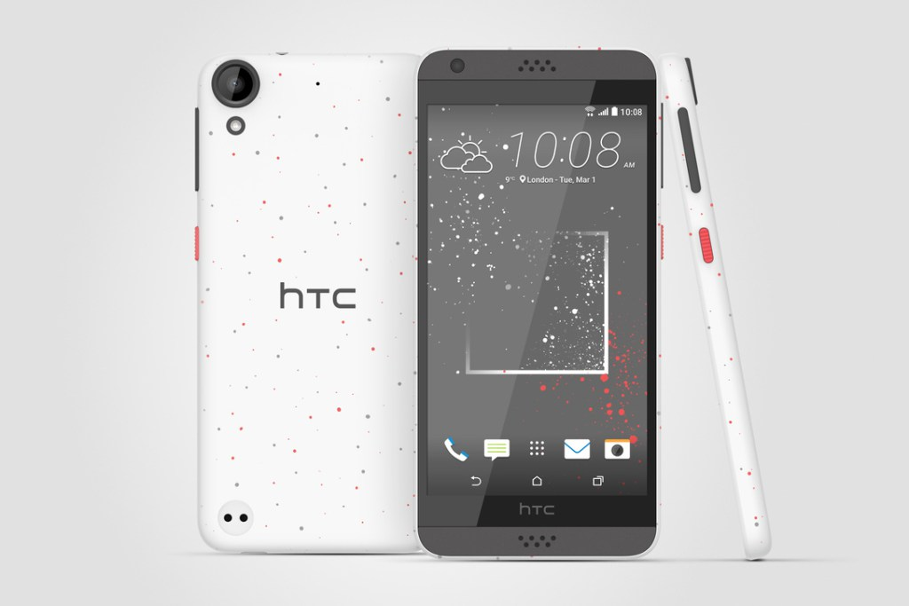 HTC представила крапленые смартфоны Desire