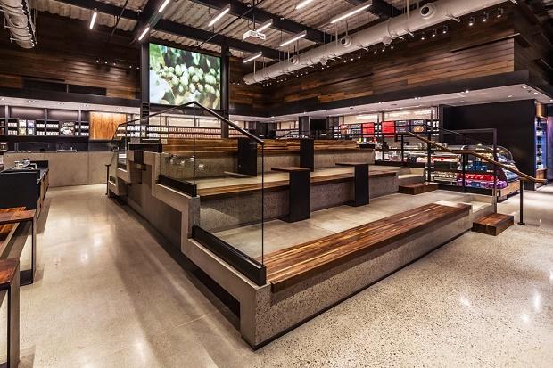 Starbucks изменили расположение мест для сидения
