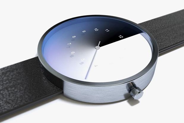 Концептуальные часы от Jung отсчитывают время по цветовому градиенту