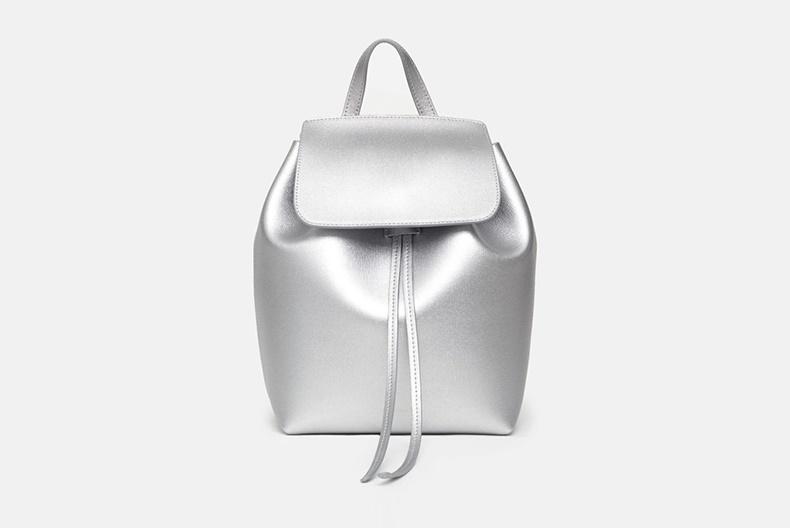 Mansur Graviel представляют серебристые кожаные сумки эксклюзивно в Opening Ceremony