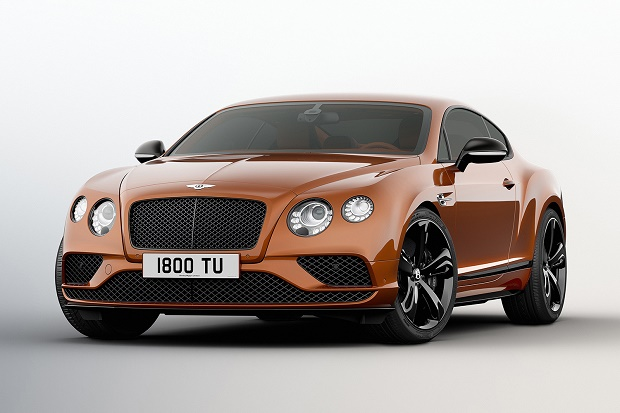 Представлен 642-сильный Bentley Continental GT Speed 2016