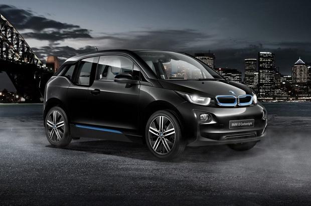 BMW празднует вековой юбилей в Японии спецверсией ситикара i3 Carbonight