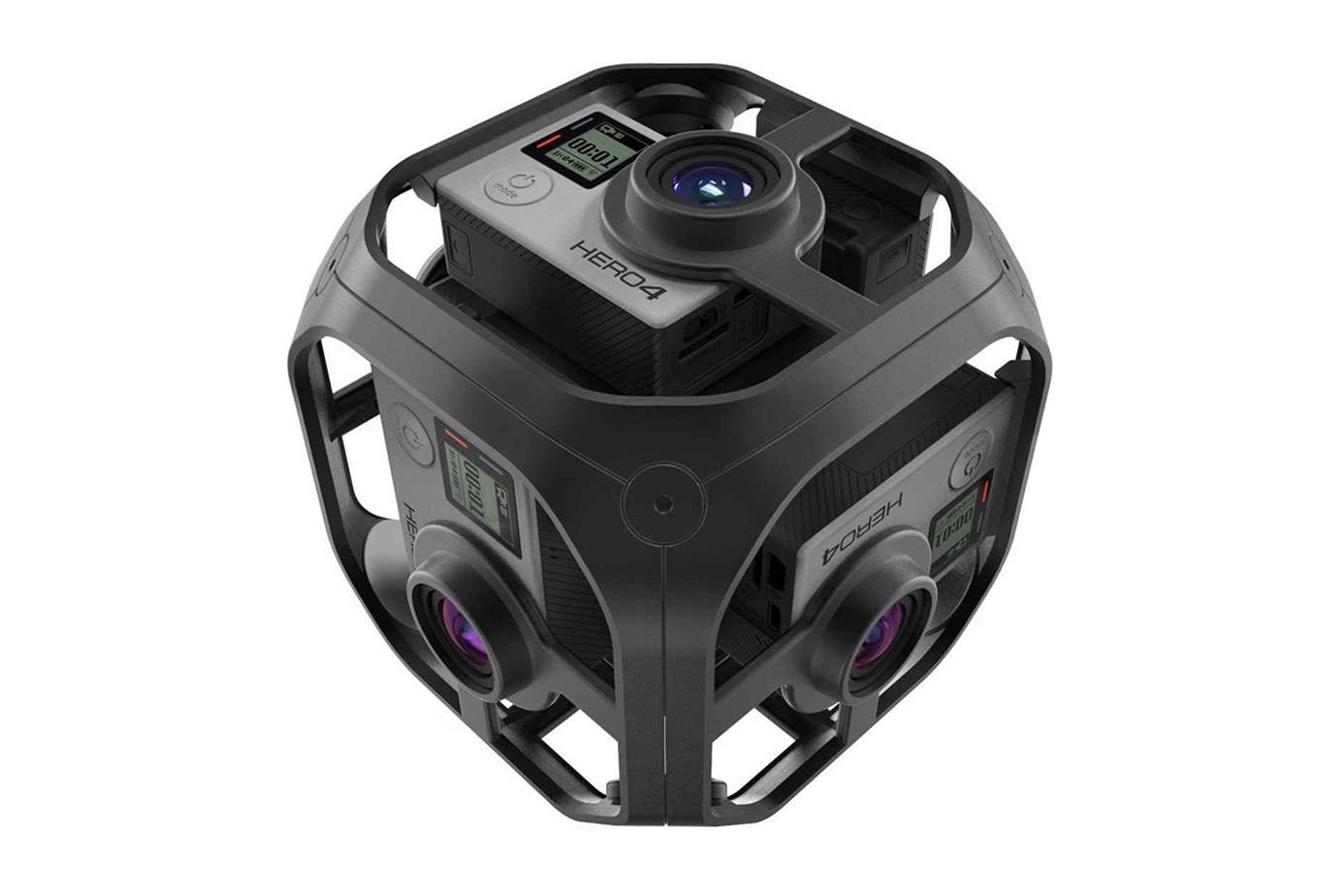 GoPro представила шестикамерную установку Omni для виртуальной реальности