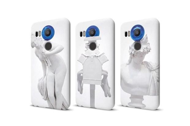 Креативный дизайн чехлов для телефонов Nexus от Джеффа Кунса