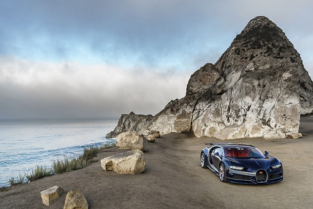 Гиперкар Bugatti Chiron пойдёт на мировой рекорд скорости