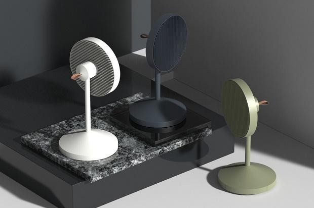 Аккуратные дизайнерские вентиляторы JiyounKim Studio