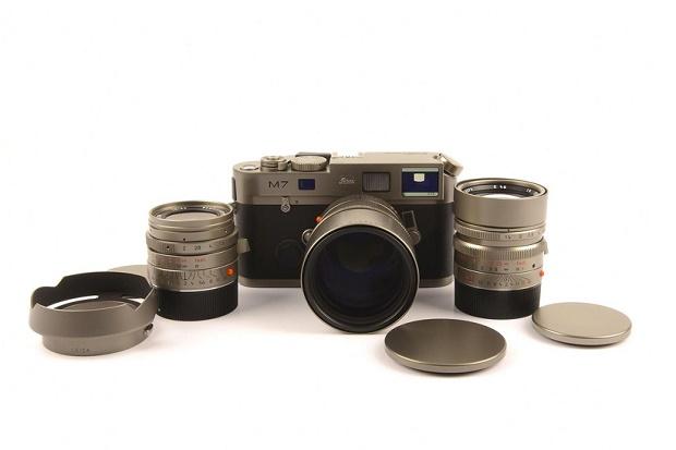 Редкая камера Leica Leitz Titanium M7 на eBay по цене $190,000