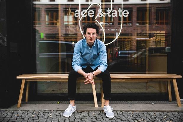 Магазин очков ace & tate от Occult Studio в Берлине