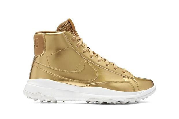 Nike недавно представили наиболее стильную и легкую обувь для гольфа