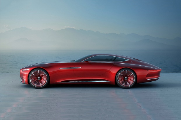 Роскошное купе Vision Mercedes-Maybach 6: смесь прошлого и будущего