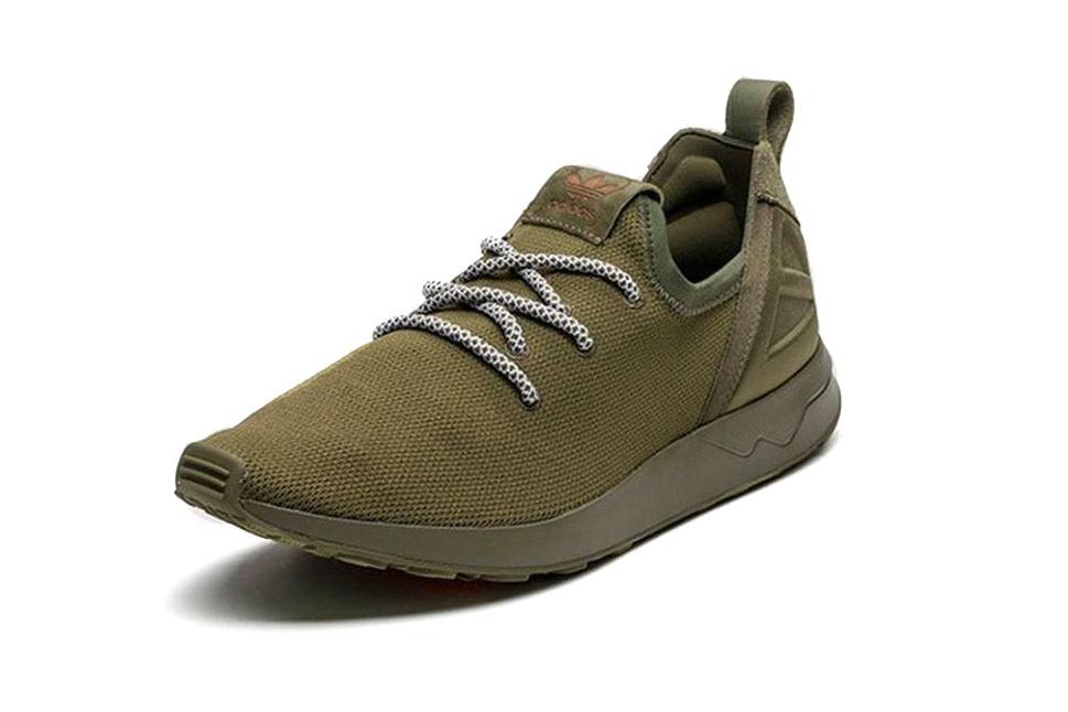 adidas выпускает оливковые кроссовки ZX Flux ADV X