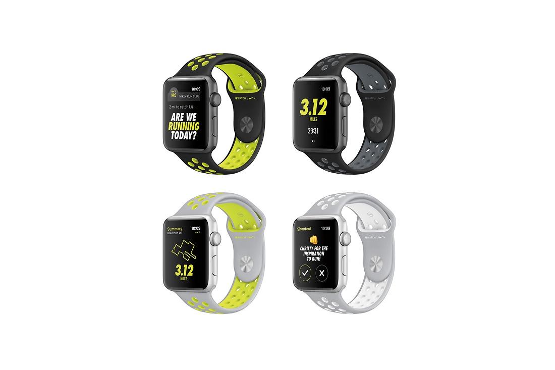 Apple и Nike создали специально издание Watch Series 2