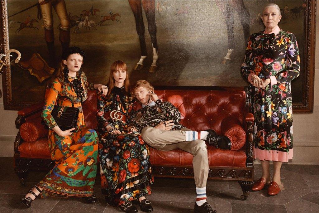 Gucci приветствует все спектры британской культуры в своей новой кампании