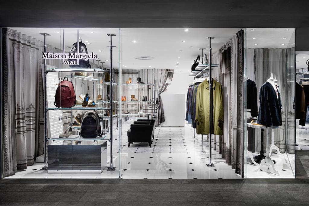 Maison Margiela открыли новый магазин в торговом центре Seibu Ikebukuro