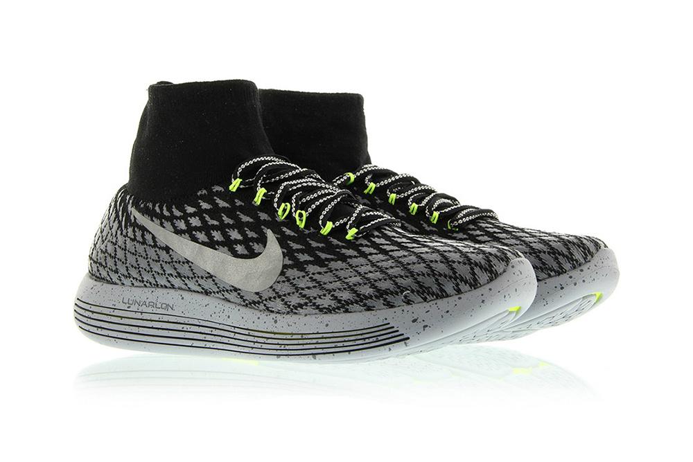 Кроссовки Nike LunarEpic Flyknit теперь со светоотражающей прошивкой и водоотталкивающим покрытием